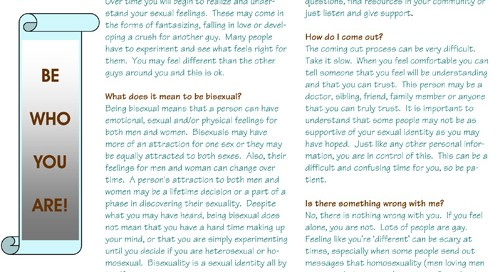 Facts About Sexuality - MSM Youth