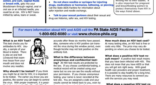 HIV Factsheet