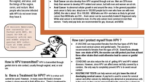 HPV Factsheet