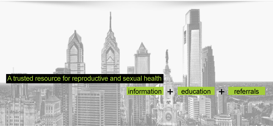 A trusted resouce for reproductive and sexual health information, education and referrals